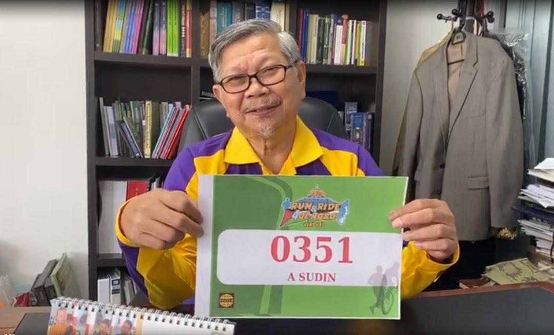 Tok Ayah yang berumur 70-an pun mampu kayuh 20 km!