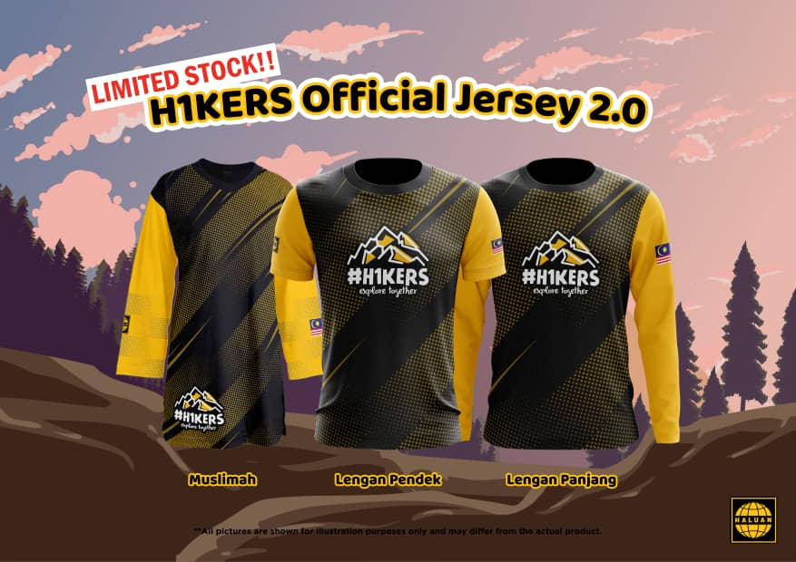H1KERS Official Jersey 2.0