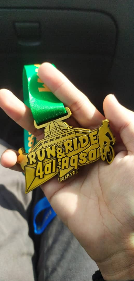 Medal #RNR4ALAQSA