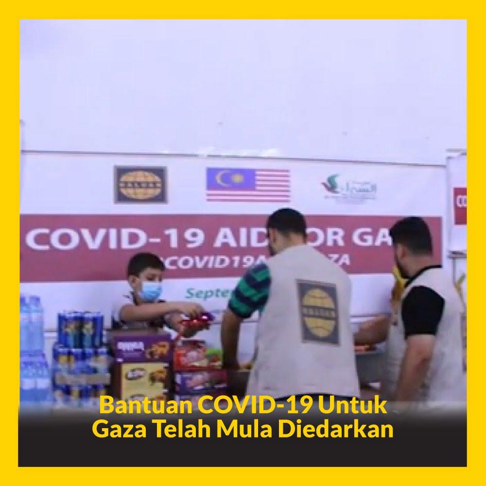 Alhamdulillah, Bantuan COVID-19 Untuk Gaza Telah Mula Diedarkan