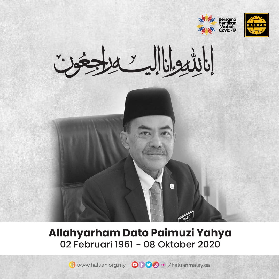 Takziah Kepada Keluarga Allahyarham Dato Paimuzi Yahya