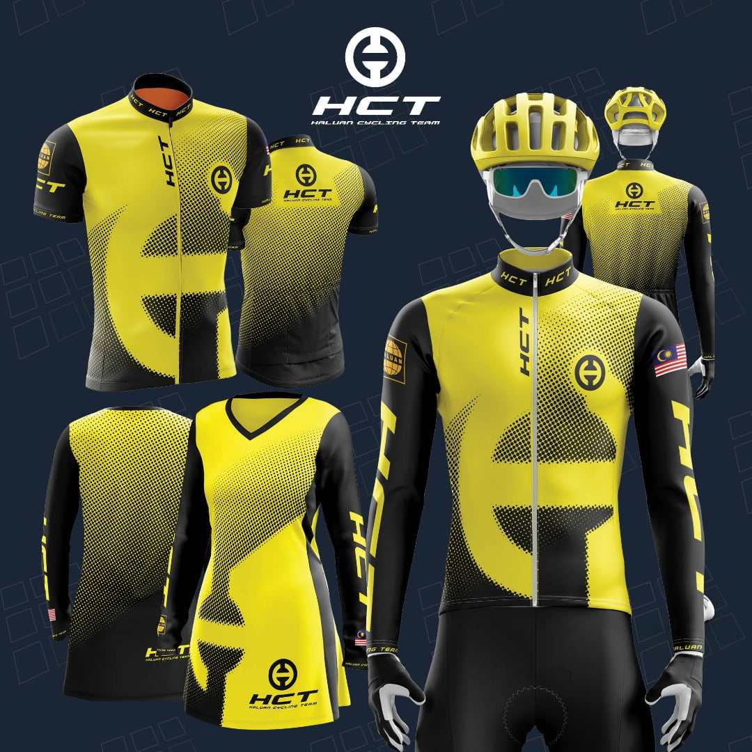 HCT (HALUAN CYCLING TEAM) Official Jersey 1.0