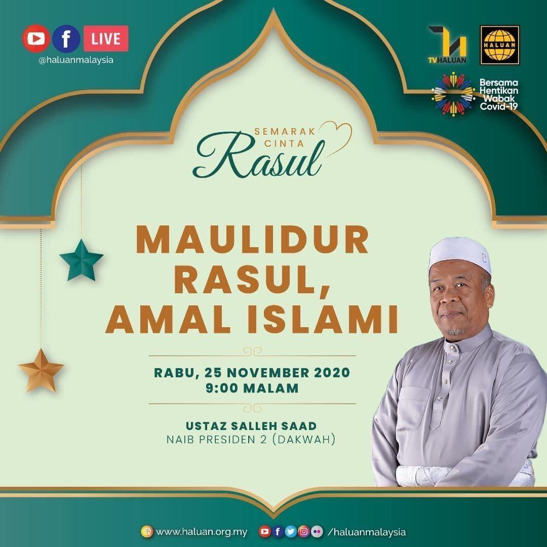 SEMARAK CINTA RASUL | Maulidur Rasul, Amal Islami