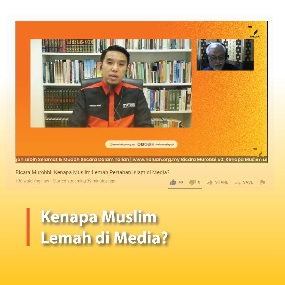 Kenapa Muslim Lemah di Media?