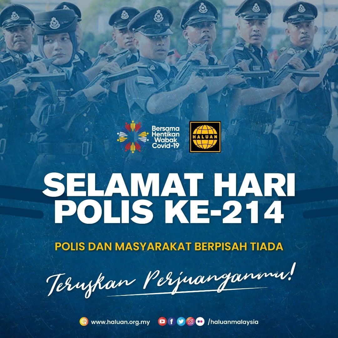 Selamat Hari Polis Ke-214