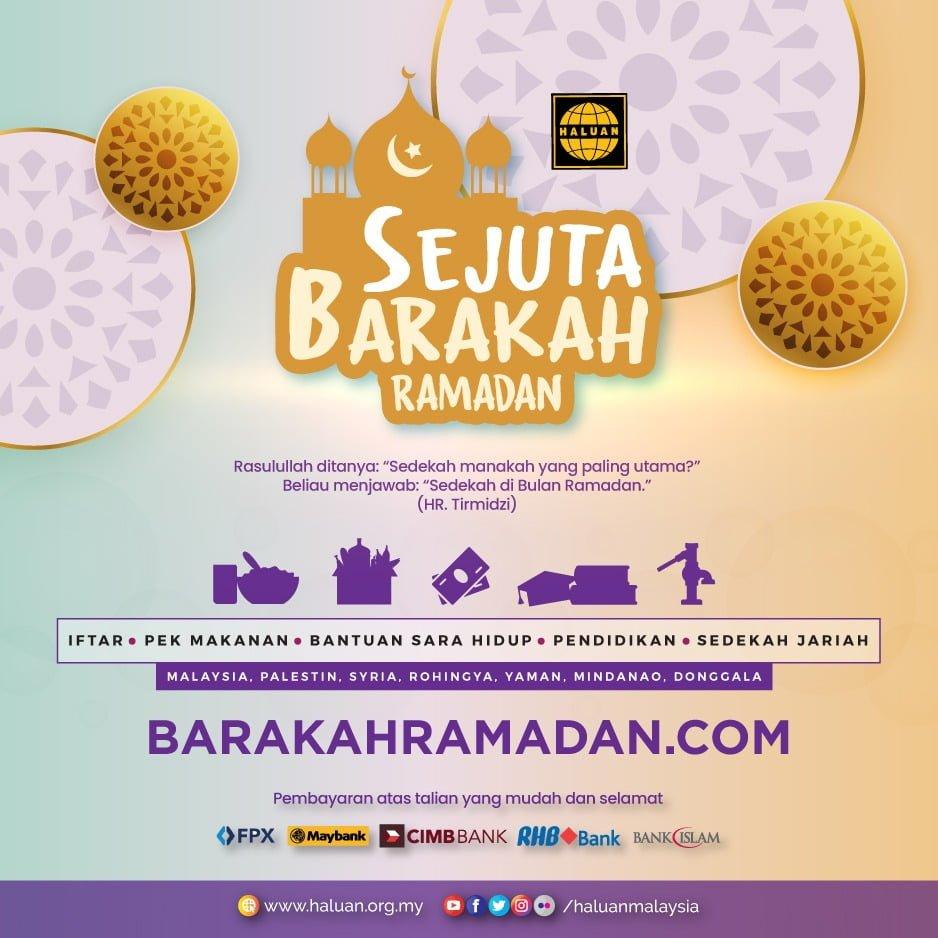 Ramadan datang lagi!