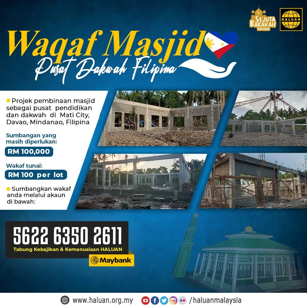 Waqaf Masjid Pusat Dakwah Filipina