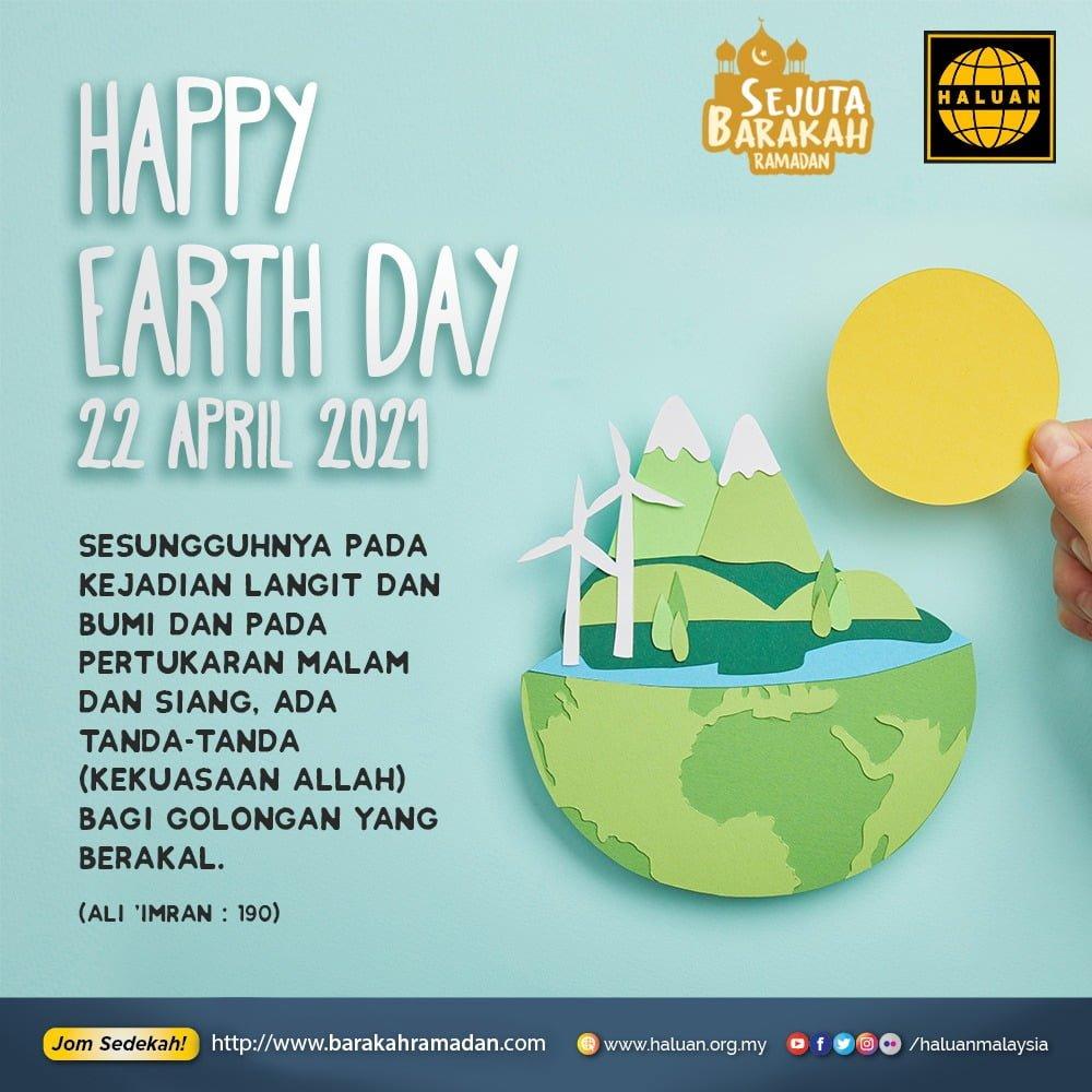 Bumi kita perlukan rehat!