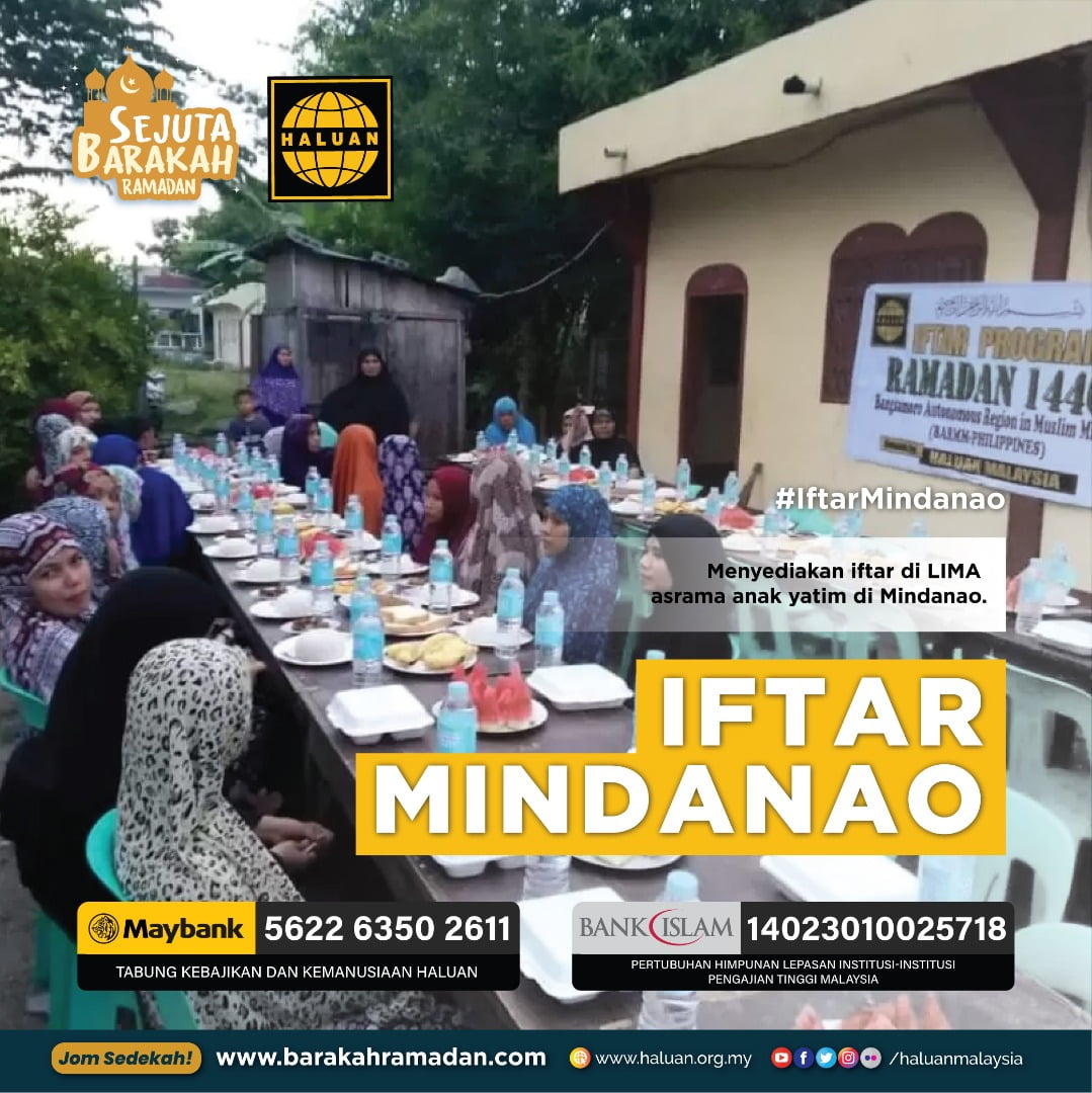 Jom Sampaikan Syiar Islam ke Mindanao