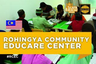 Projek Pusat Pendidikan Komuniti Rohingya (RCEC)