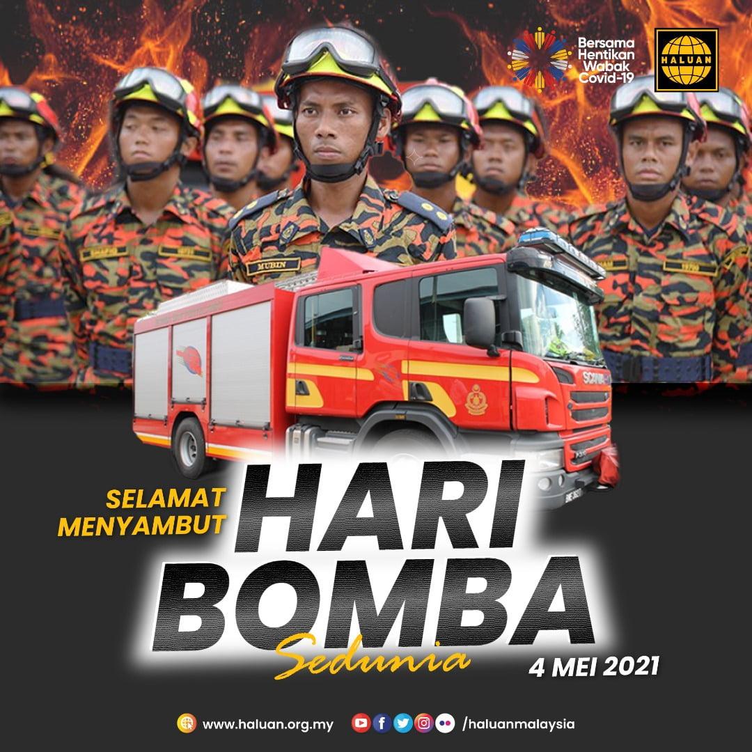 SELAMAT MENYAMBUT HARI BOMBA SEDUNIA 2021