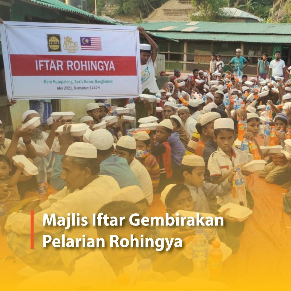 Majlis Iftar Gembirakan Pelarian Rohingya