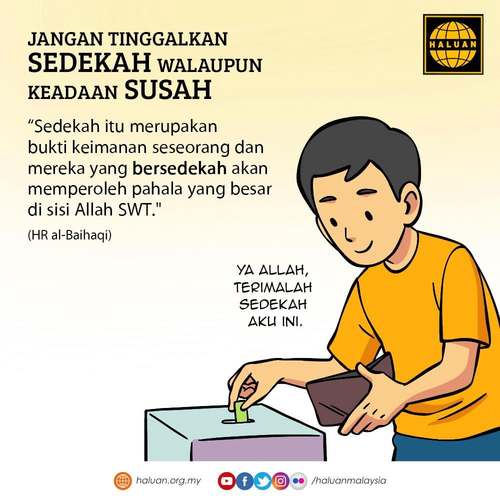 Adakah sama RM50 dari seorang hartawan dengan RM5 dari seorang yang miskin?