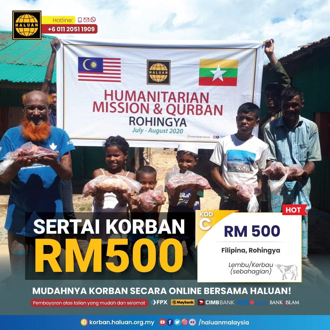 Sertai Korban RM500